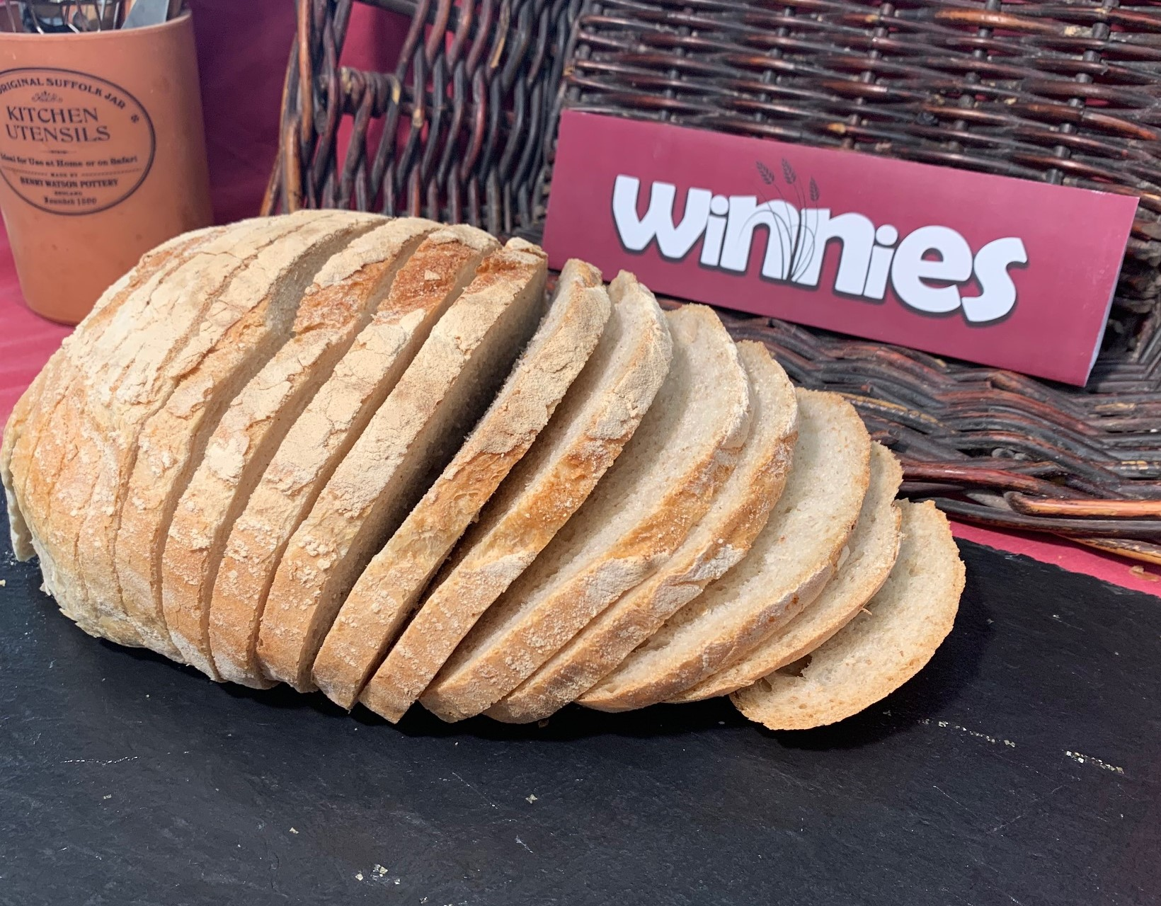 WINNIES RUSTIC LARGE SOUR DOUGH SLICED