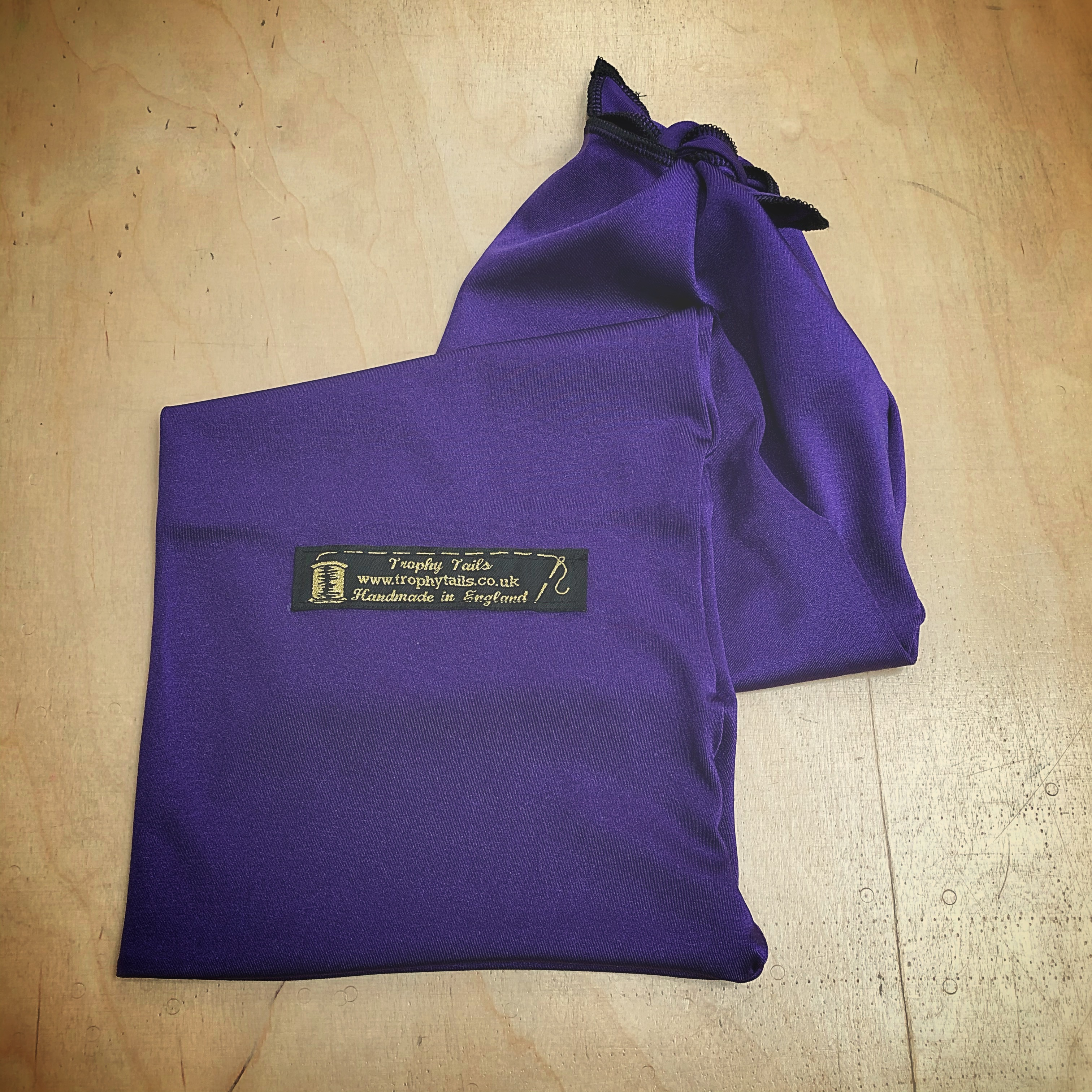 Lycra Tail Bag - Purple