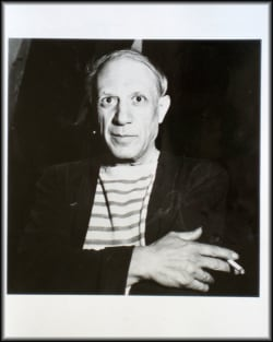 Robert Capa - Portrait of Pablo Picasso