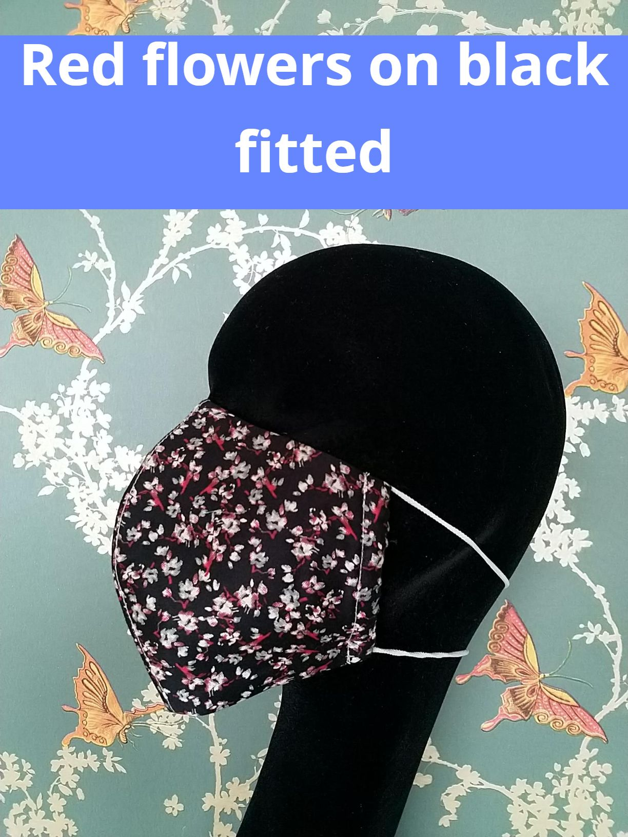 Patterned cotton face masks