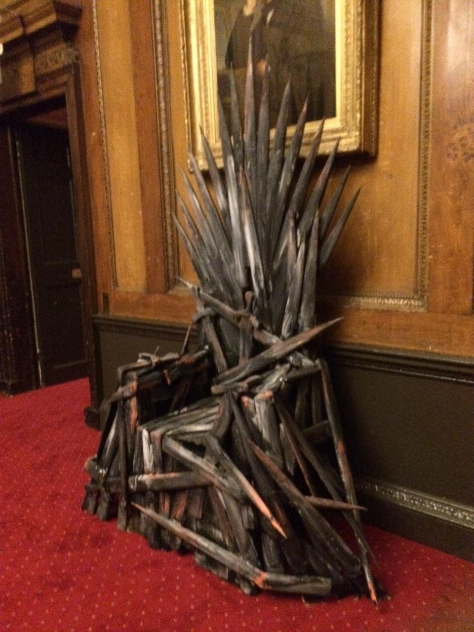 Iron Throne style chair