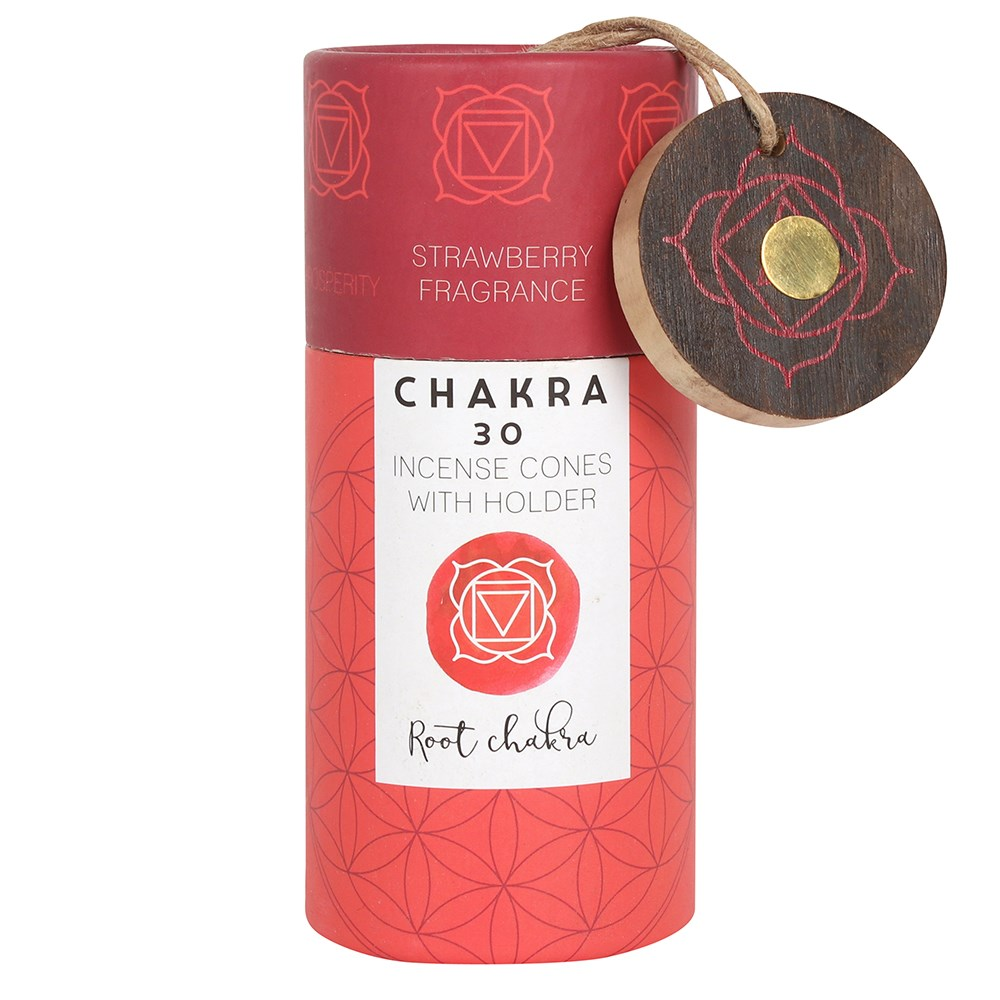 STRAWBERRY ROOT CHAKRA INCENSE CONES