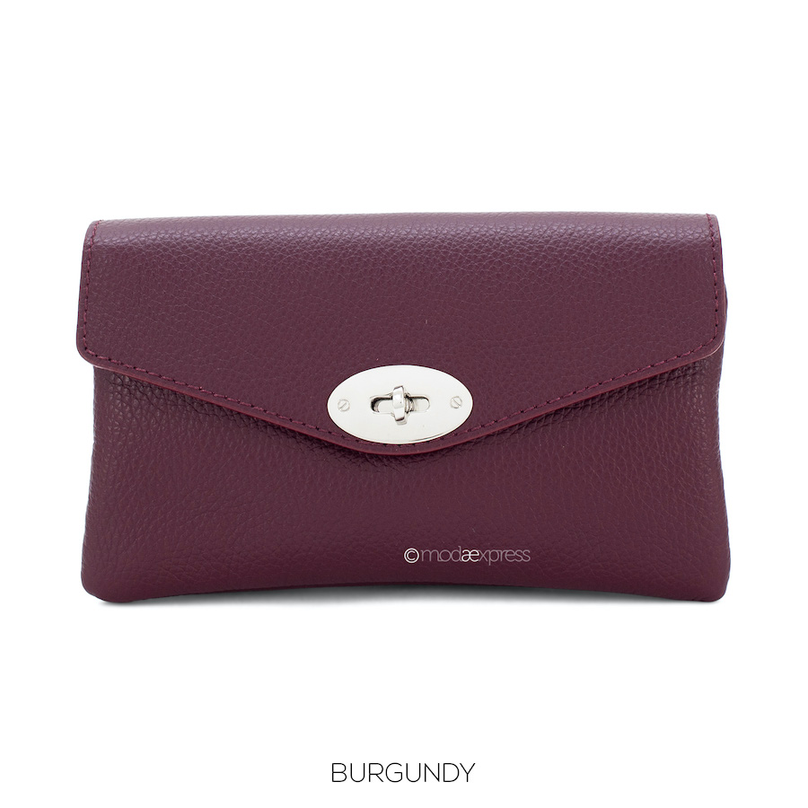 Leather Cross Body Bag in a Range of Colours