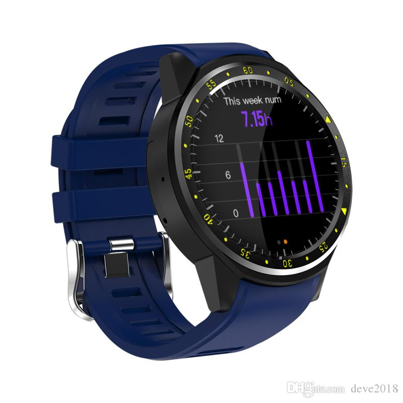F1 Smart Watch GPS And Compass Positioning