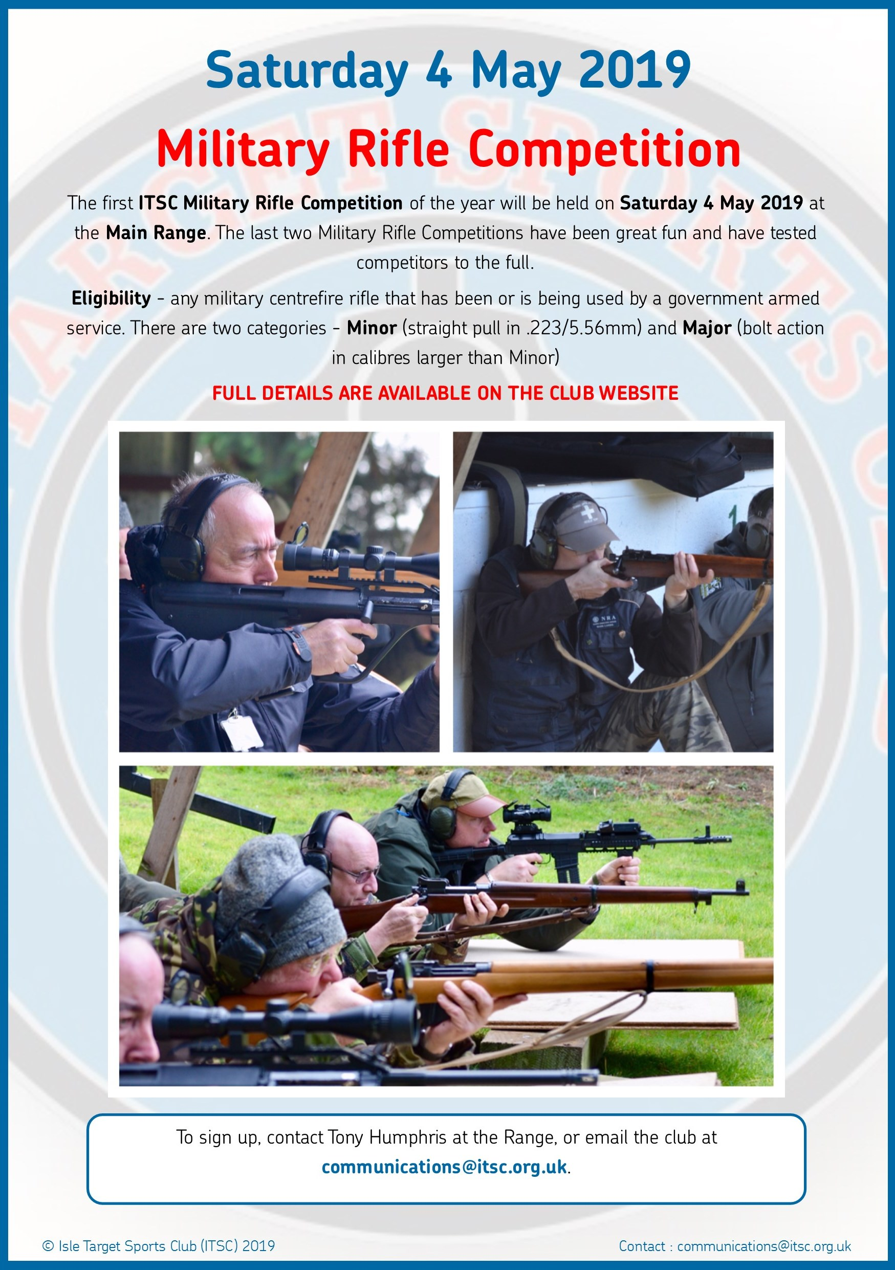 Military Rifle Competition April 2019jpg