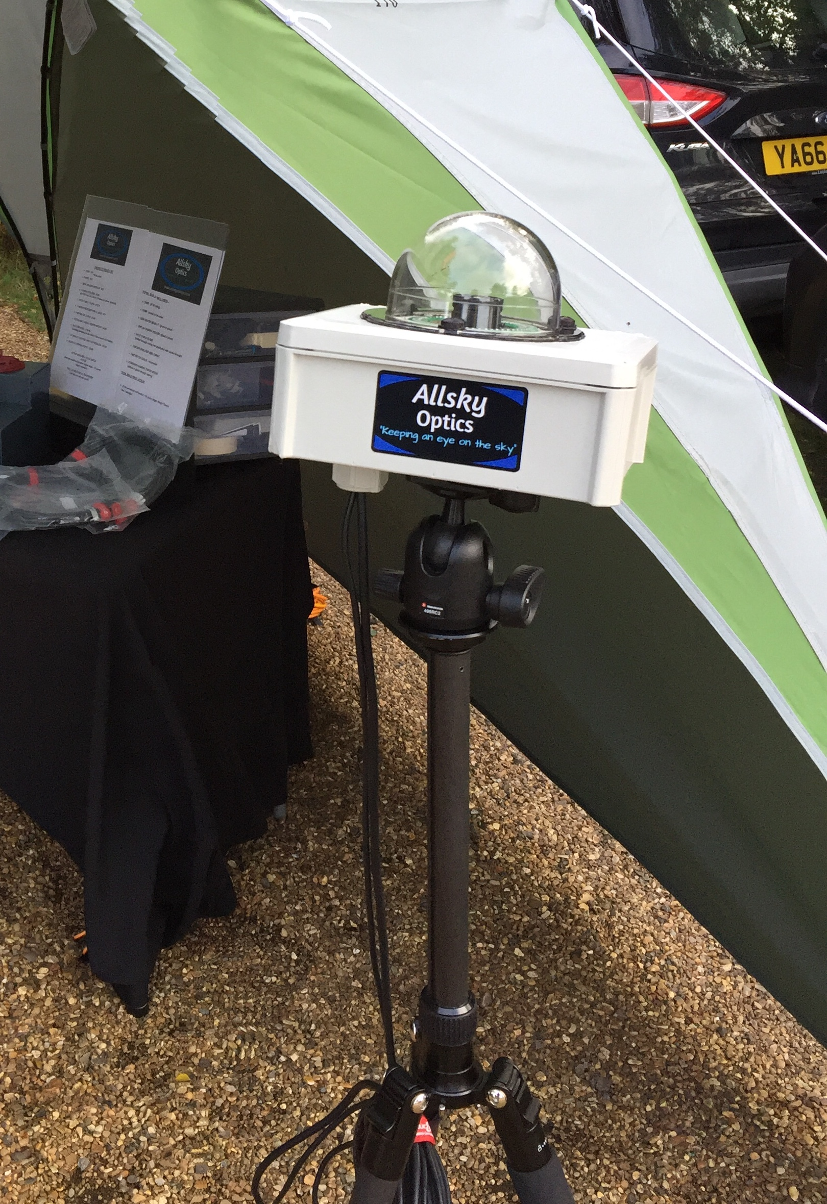 Standard Tripod Mount for Securing Allsky Camera Casings To a Tripod