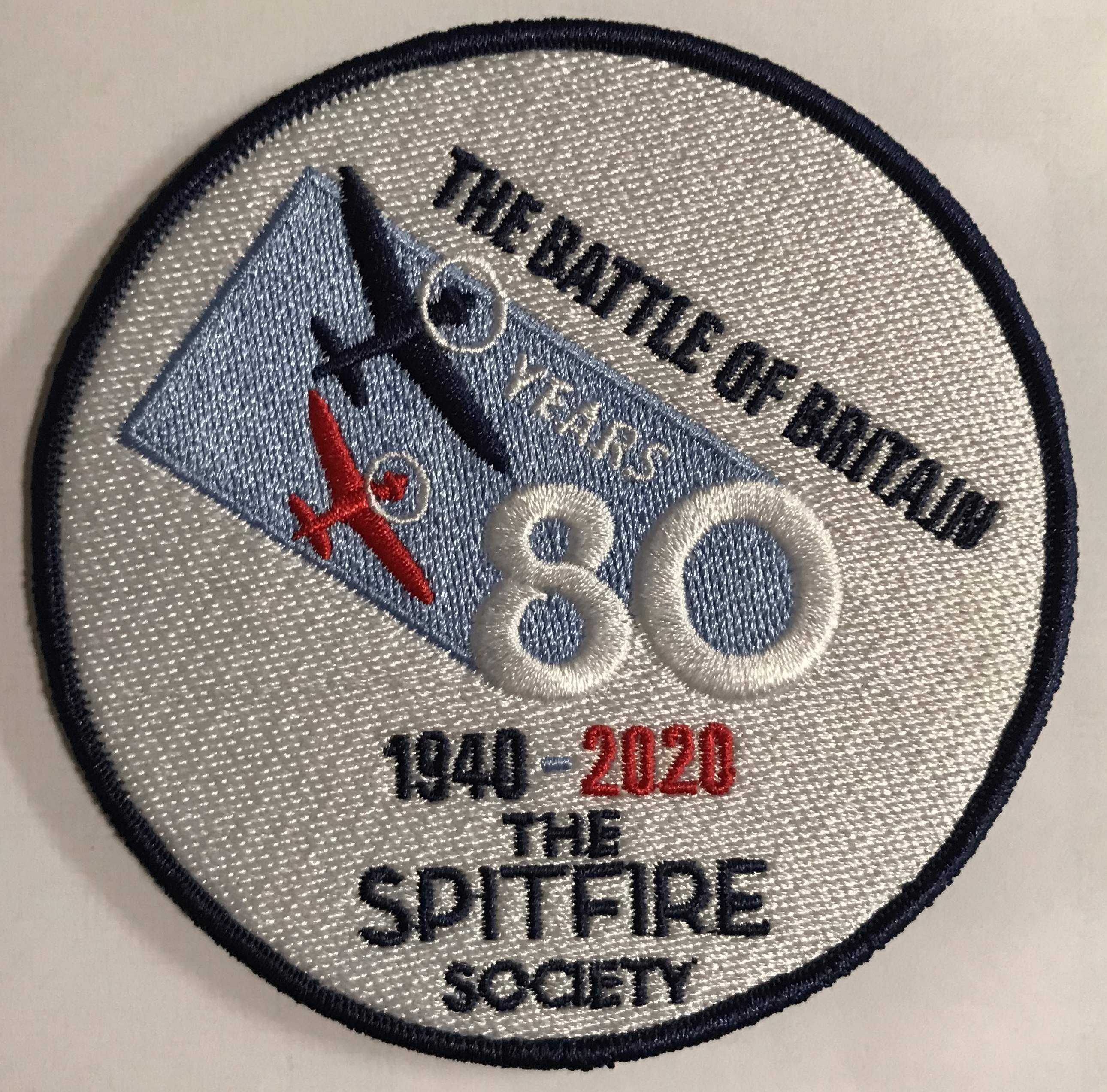The Battle of Britain 80th Anniversary fabric badge patch