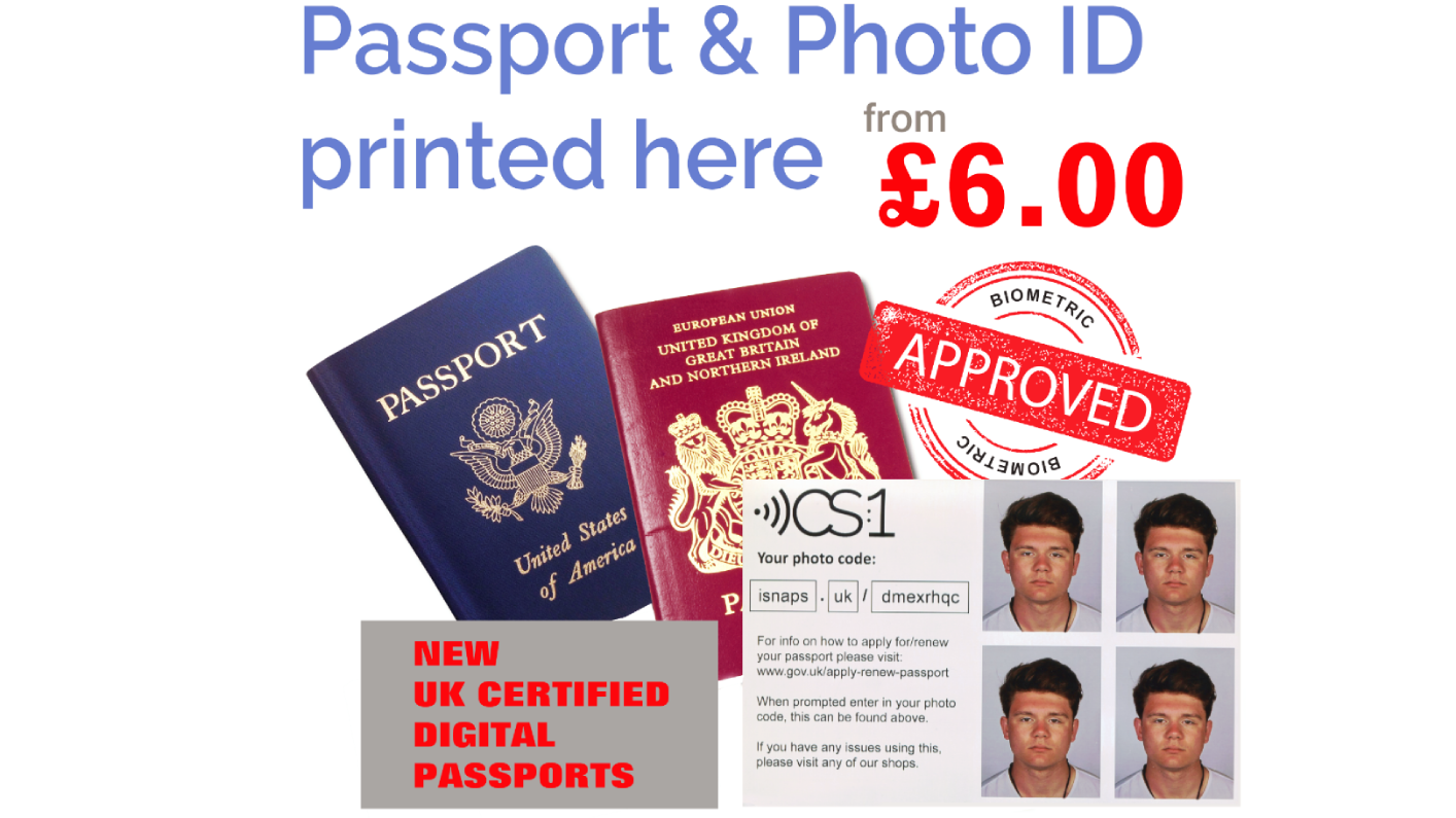 Passport, Visa, ID photos