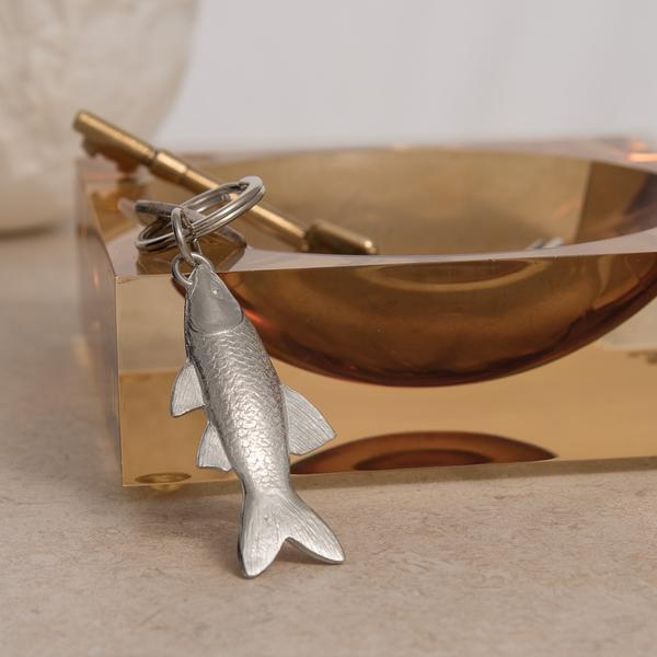 Pewter Key Ring - Fish