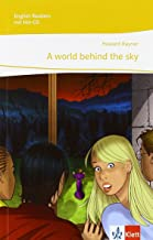 cover illustration of frightened students staring at a red sky