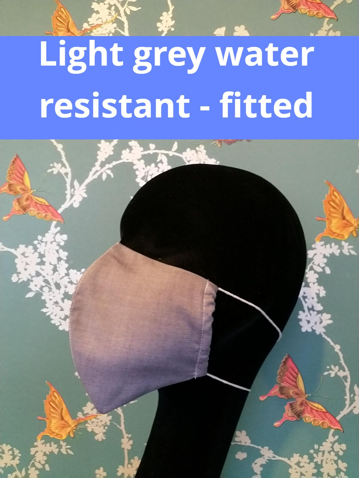 Water resistant 100% cotton shirt fabric face masks