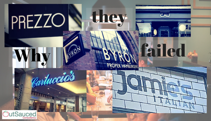 Why these restaurant chains have failed...