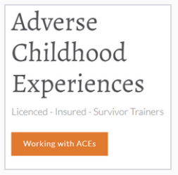 The logo for Working with ACEs training