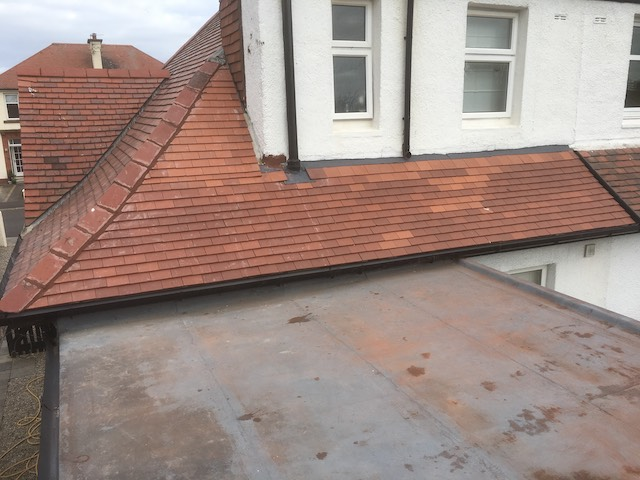 DC Roof Care new roof in Troon, work completed