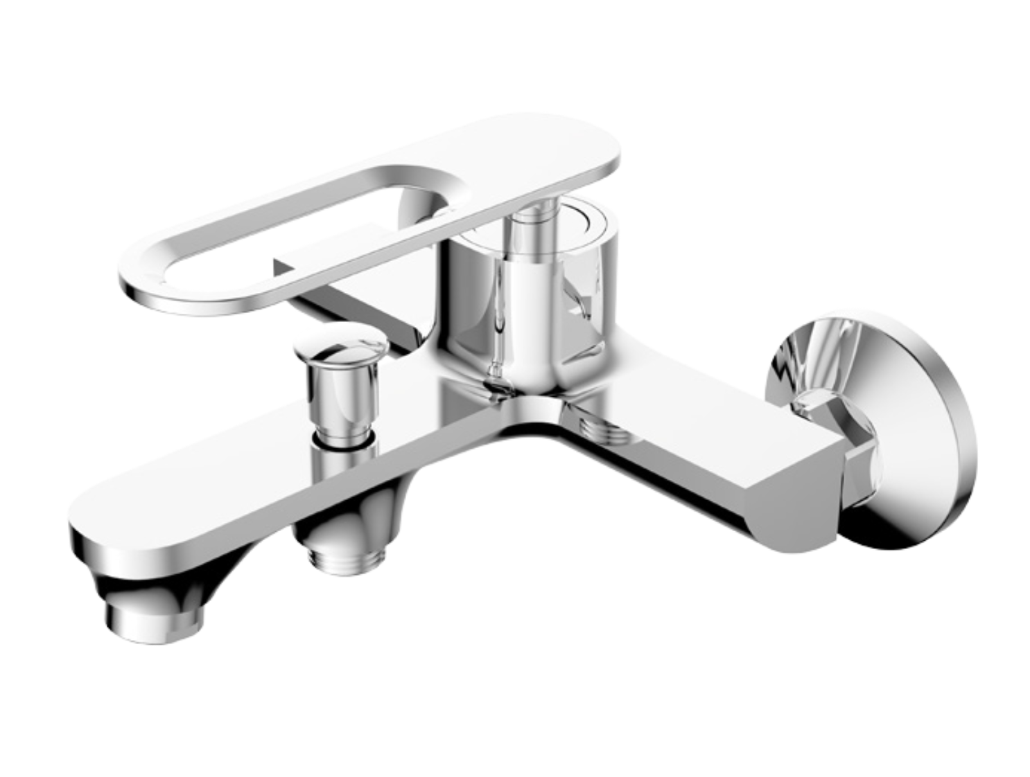 Peking Bath Shower Mixer with Legs