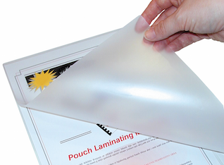 A4 Gloss Laminating Pouches (Qty 100) (150 and 250 micron)