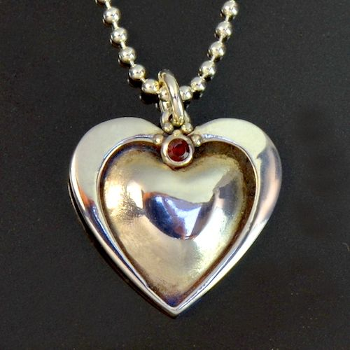 All Heart Pendant by Tracey Spurgin