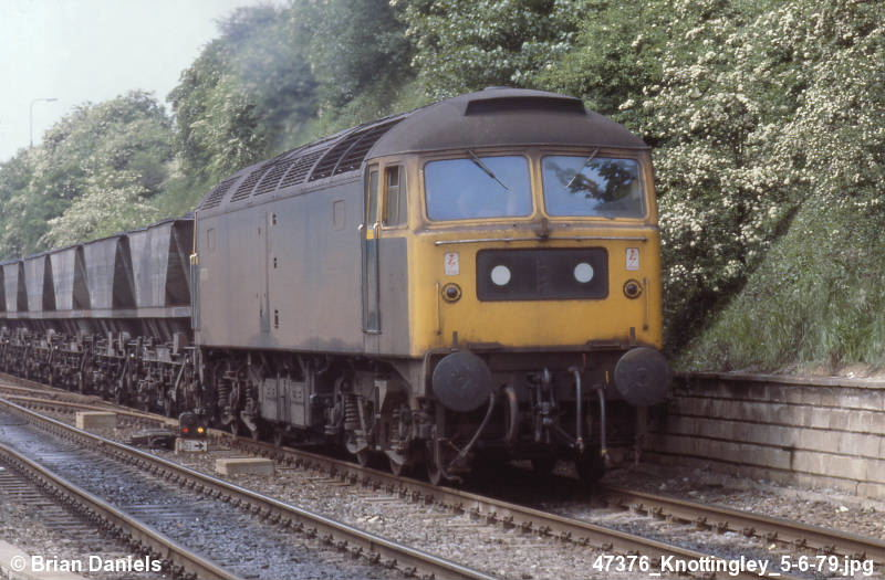 47376  at Knottingley - 05/06/79  (Brian Daniels)