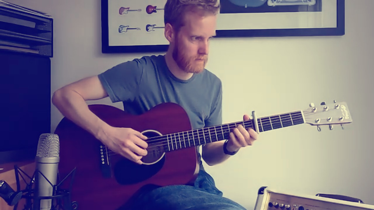 Marry Me by Train Fingerstyle Guitar