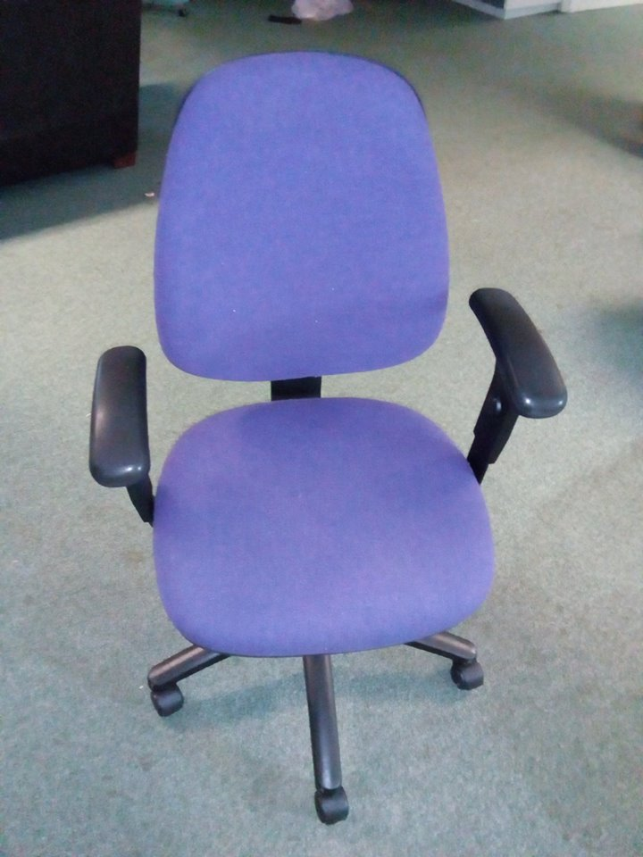 Office / Computer Chair (Used) - Purple