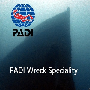Padi wreck Speciality