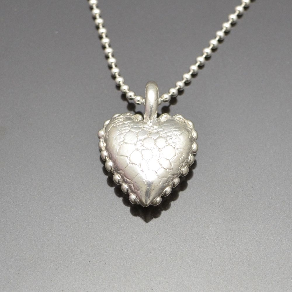 You Fill My Heart Pendant by Tracey Spurgin