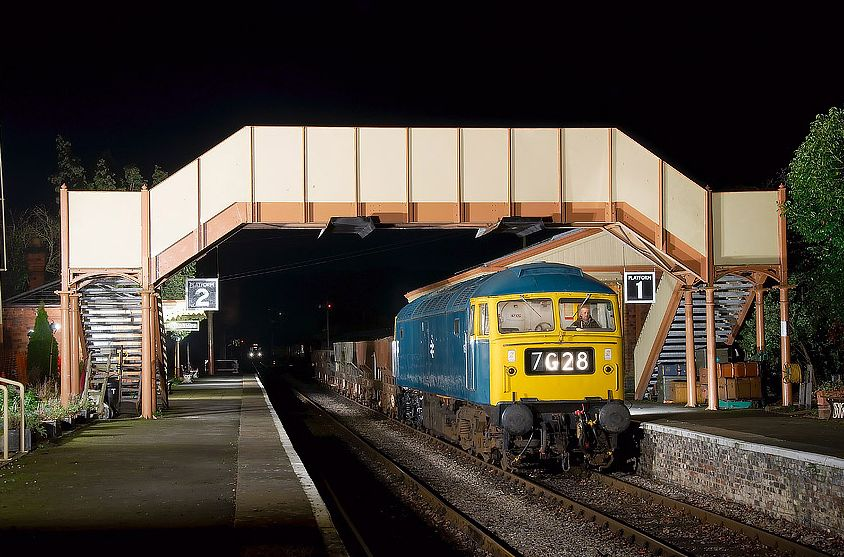 47105 was used for an EMPRS charter at Toddington on 28/01/12  (Jason Cross)