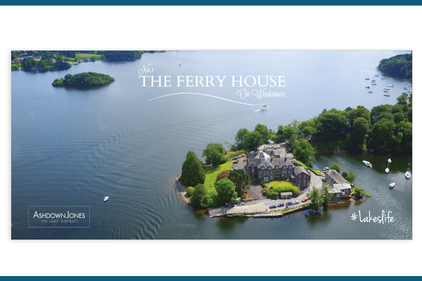 No. 1 The Ferry House Bespoke Brochure created for AshdownJones.