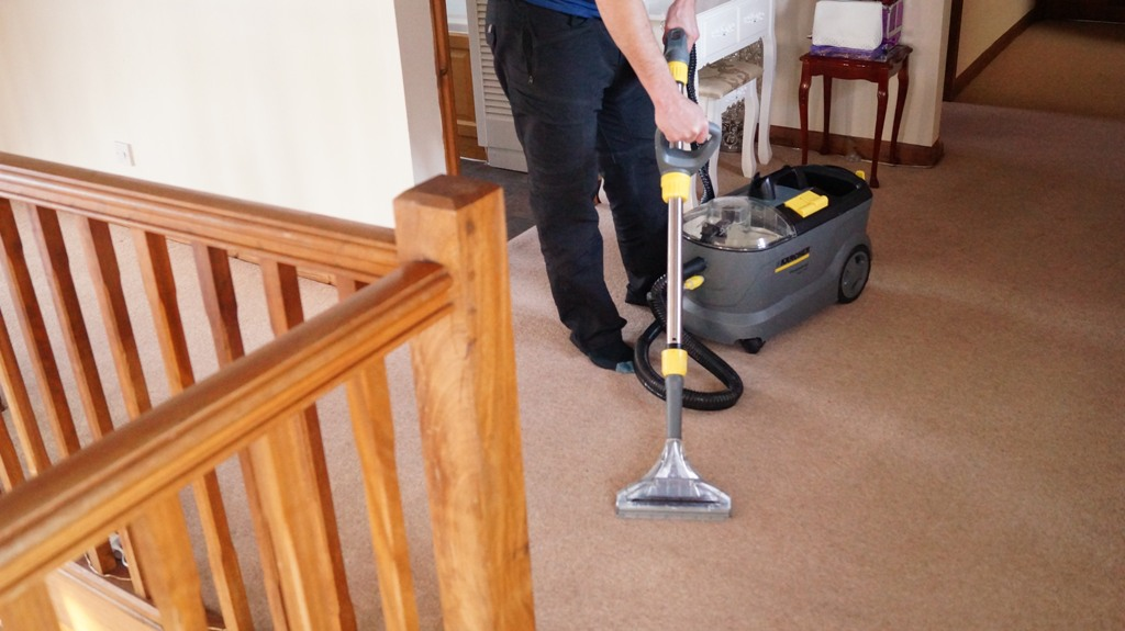 Carpet Cleaning Landing