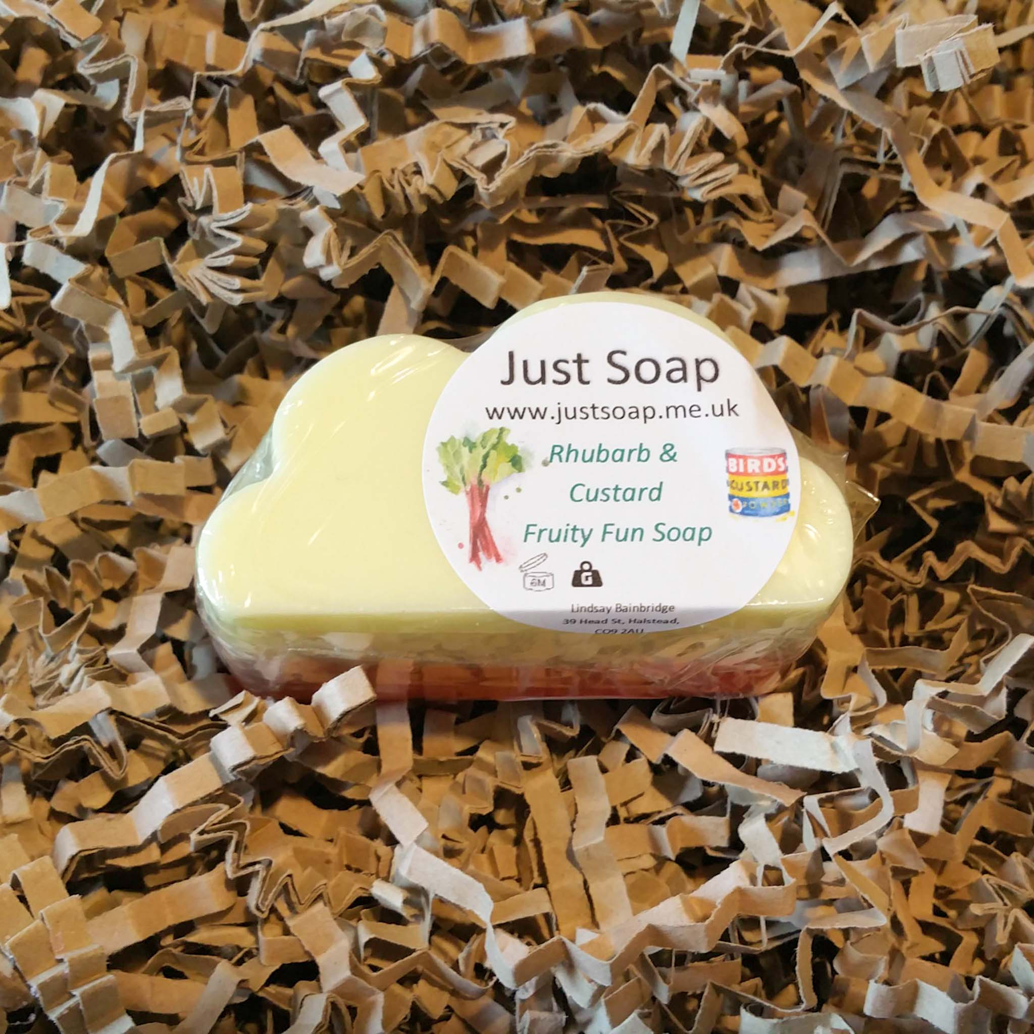 Rhubarb and Custard Fruity Fun Soap