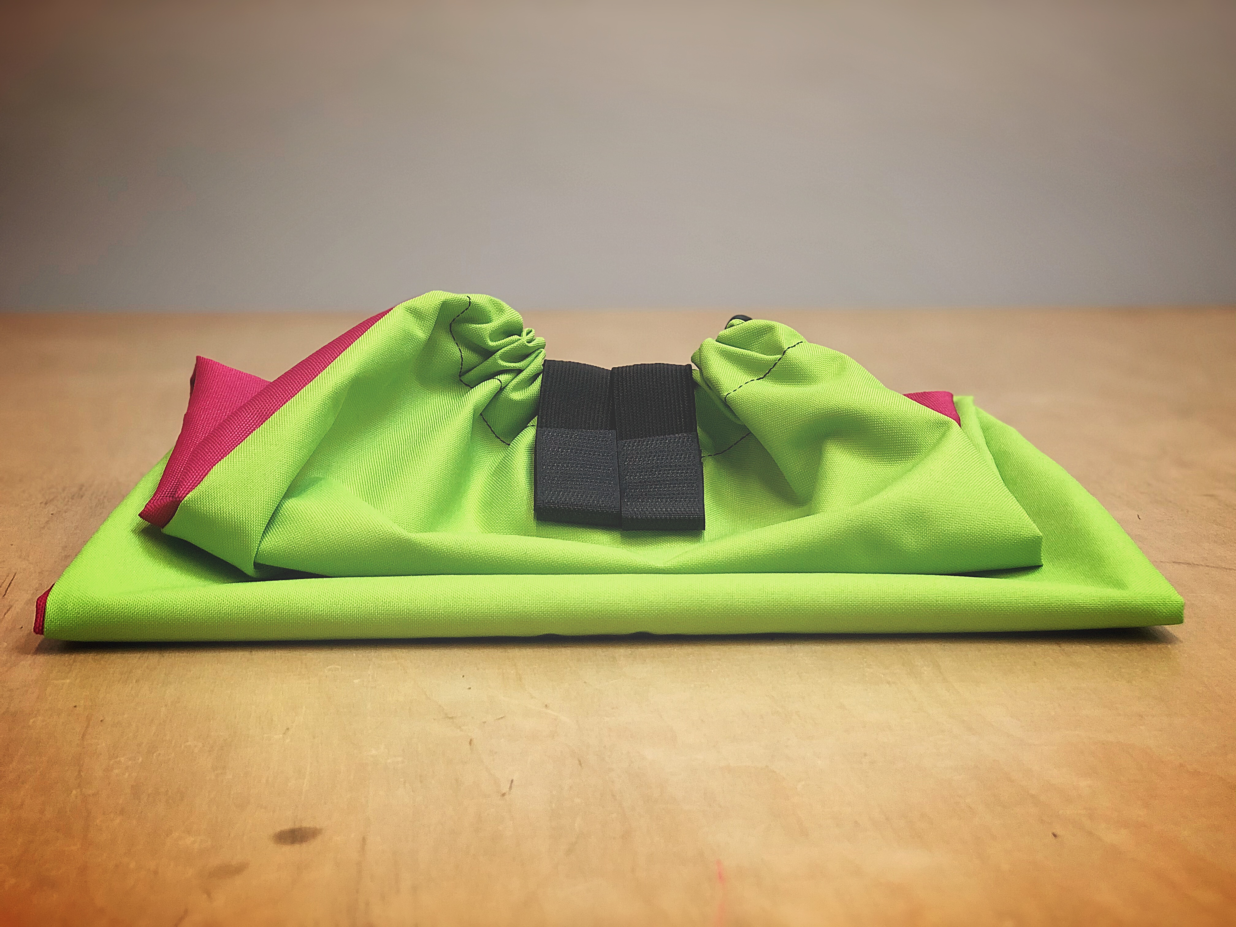 *Limited Edition* - Ultimate Tail Bag - Hot Pink & Lime