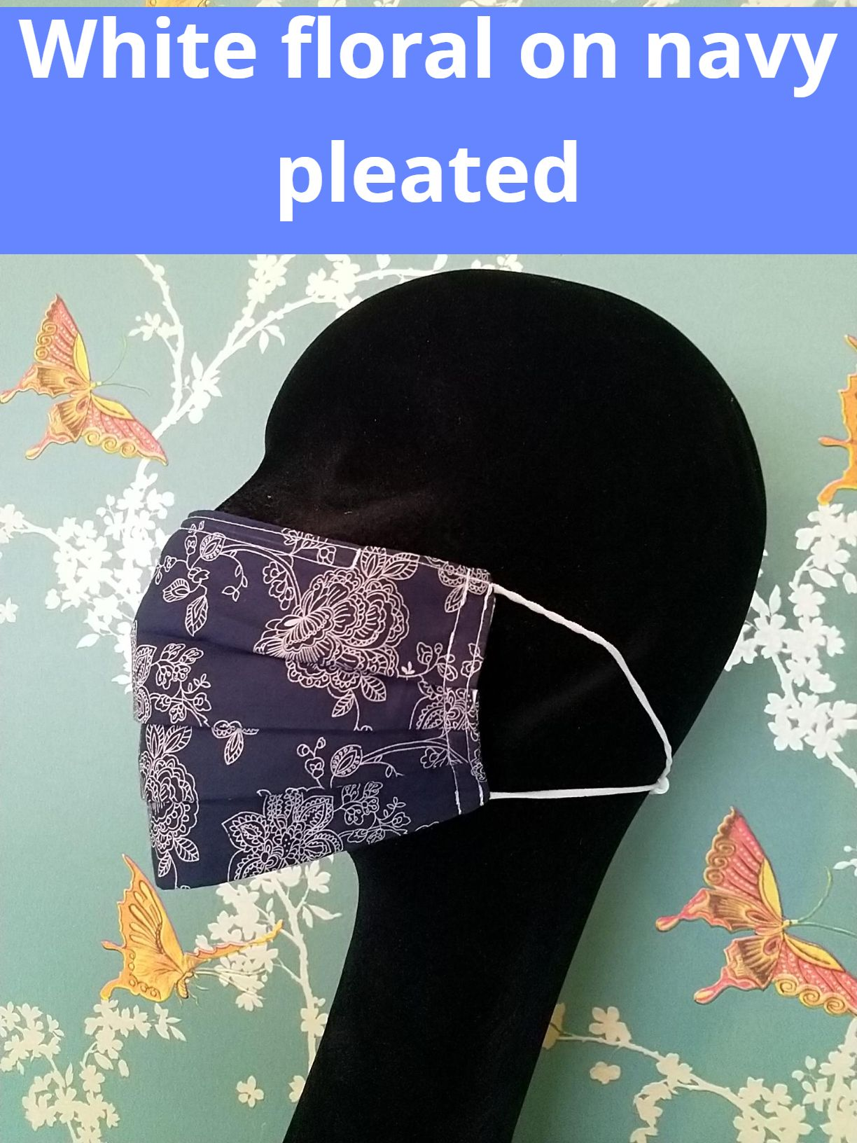 Flora & Fauna cotton face masks
