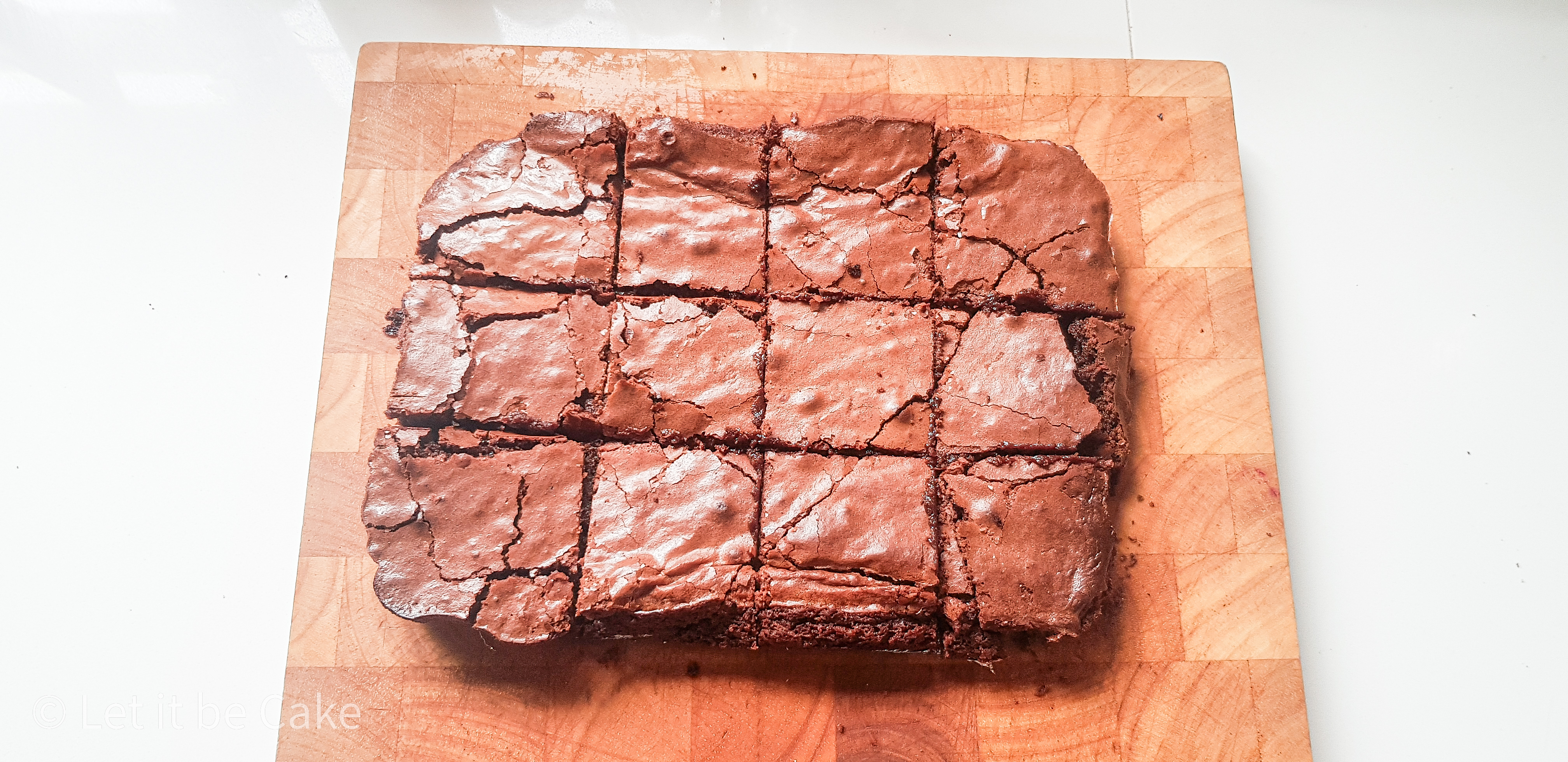 Postal box of brownies