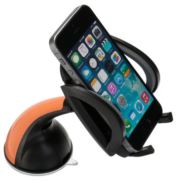 Plastic Car Phone Holder GPS Accessories Suction