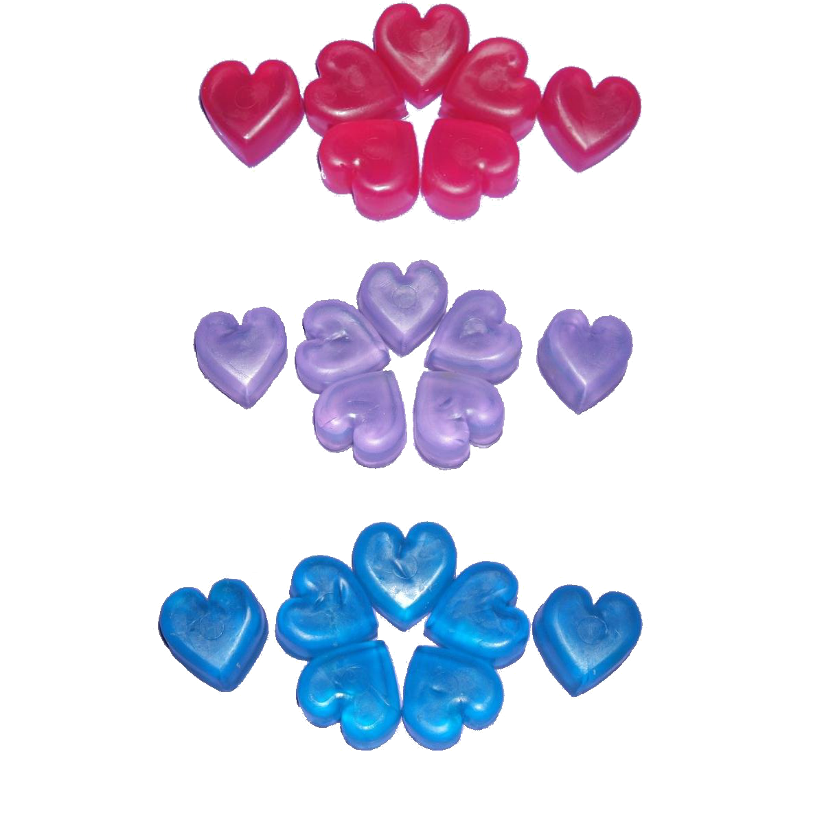 Mini Soap Hearts, Vegan, Vegetarian
