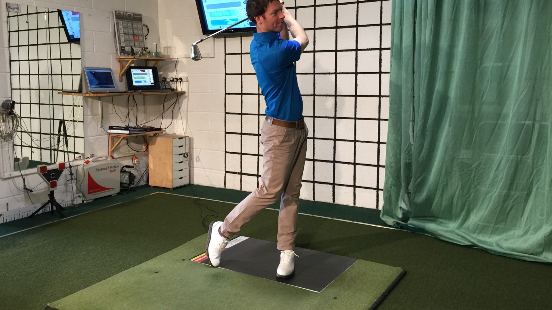 Advanced golf coaching