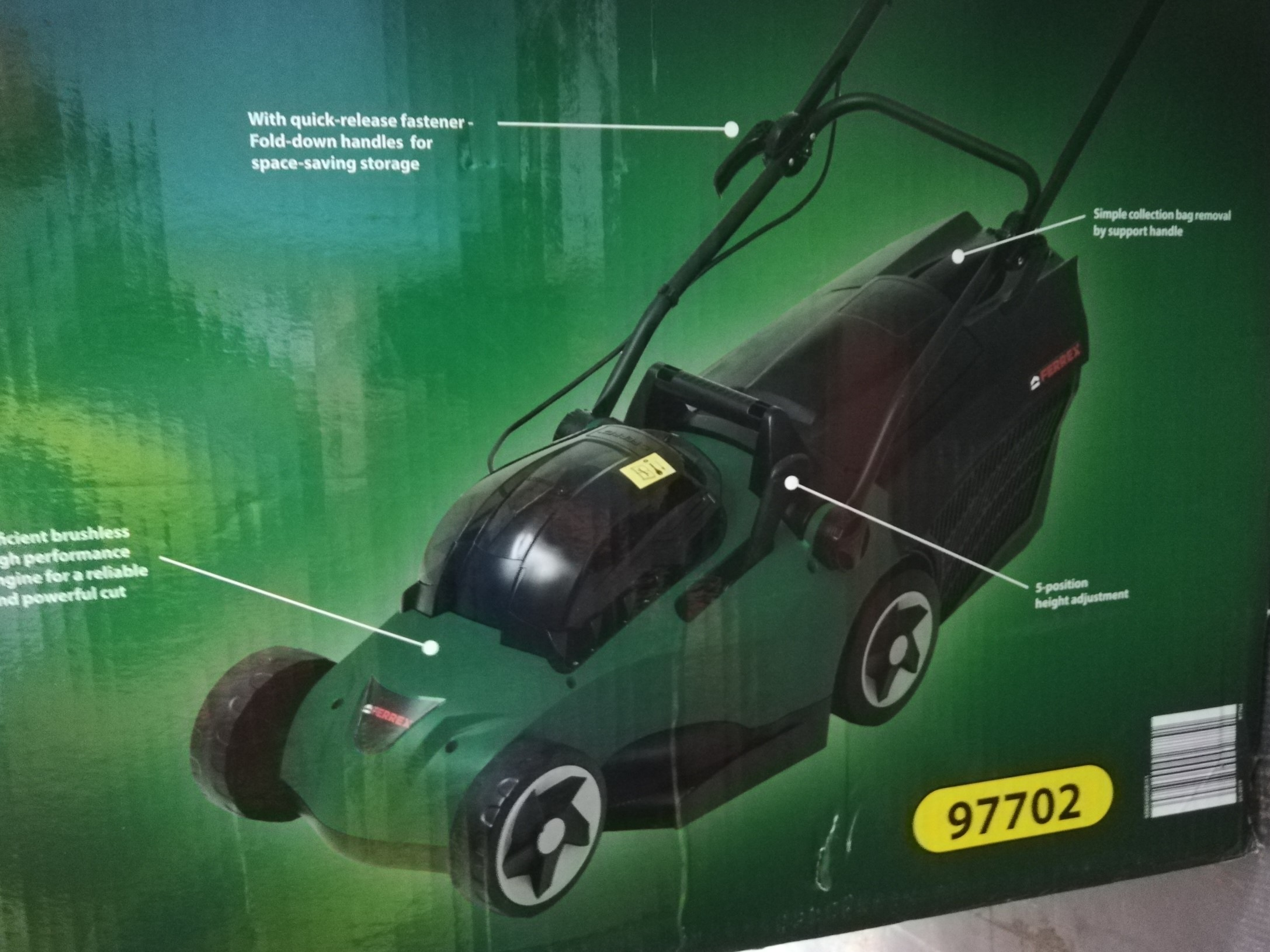 Lawnmower - Cordless - 40 V LI -ION (limited stock - NO BATTERY & CHARGER INCLUDED)