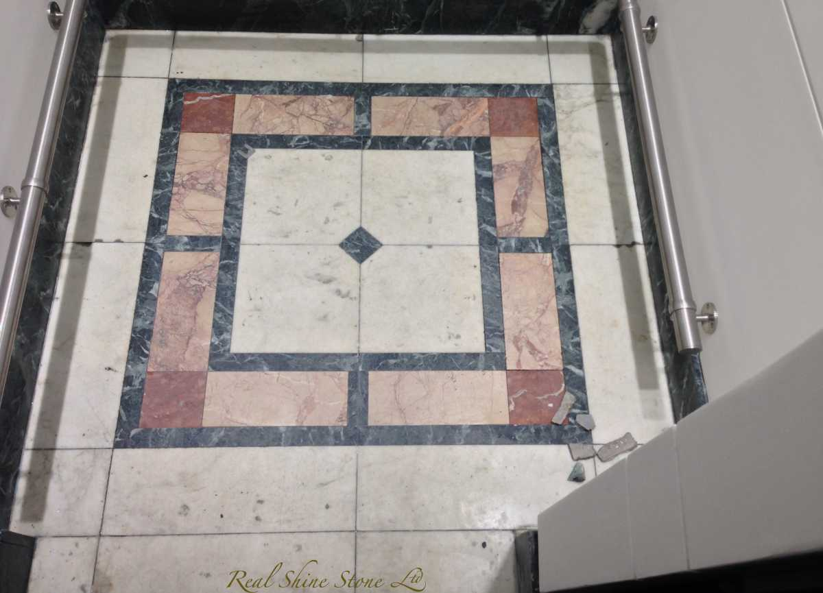 marble polishing lift floor