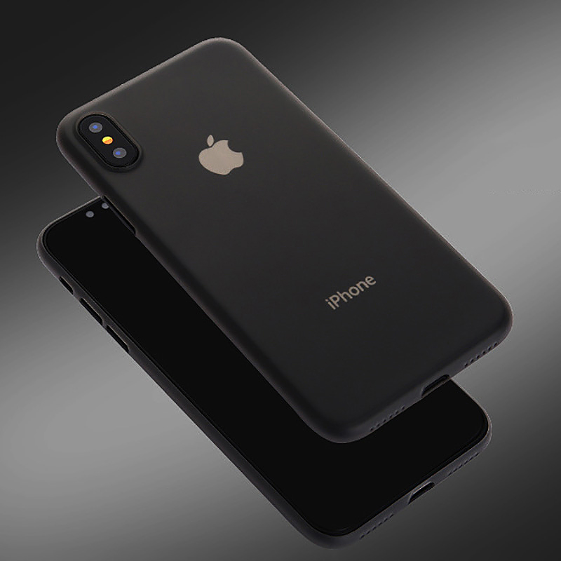 Nude for iPhone X Charcoal black