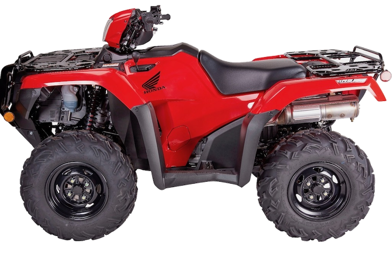 Foreman 500 DCT IRS PS 2/4wd ATV from Paterson ATV Dumfries and Galloway
