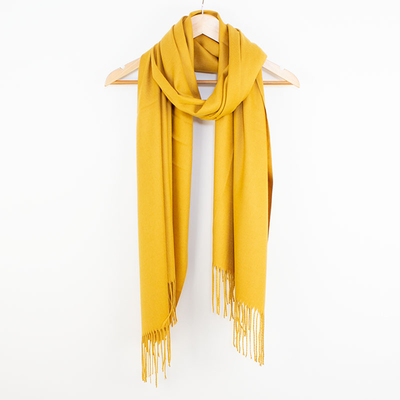 Pashina Scarf in Mustard