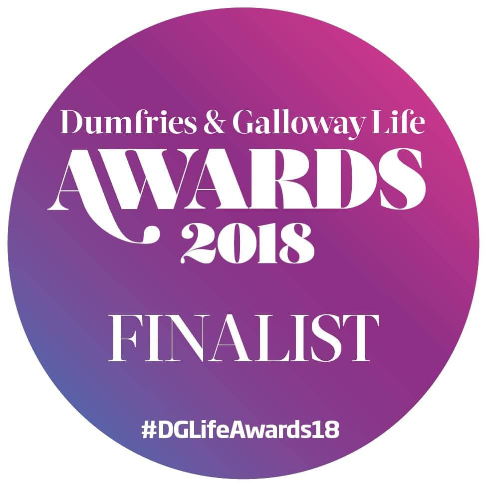 Dumfries & Galloway Life Awards 2018 Finalist logo