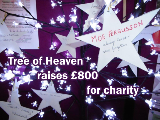 Tree of Heaven raises 800 for charity