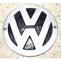 Small cast iron Volkswagen wall sign.