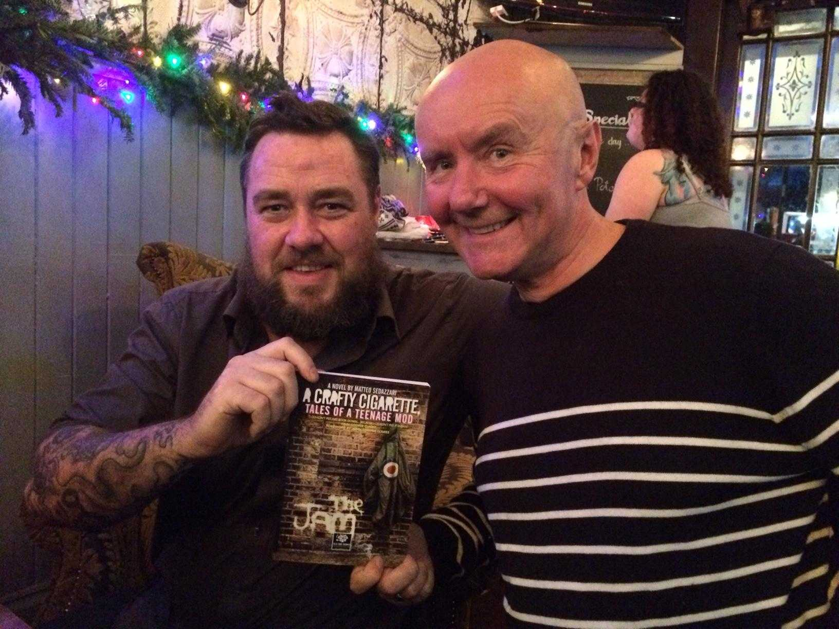 Dean Cavanagh and Irvine Welsh