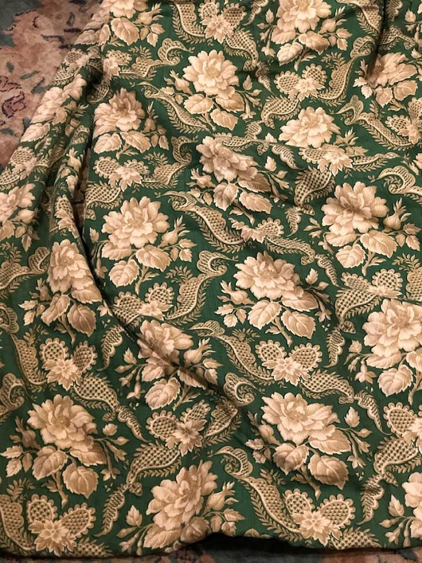 Osborne & Little 'Amaranthus' Interlined Curtains W184 D260