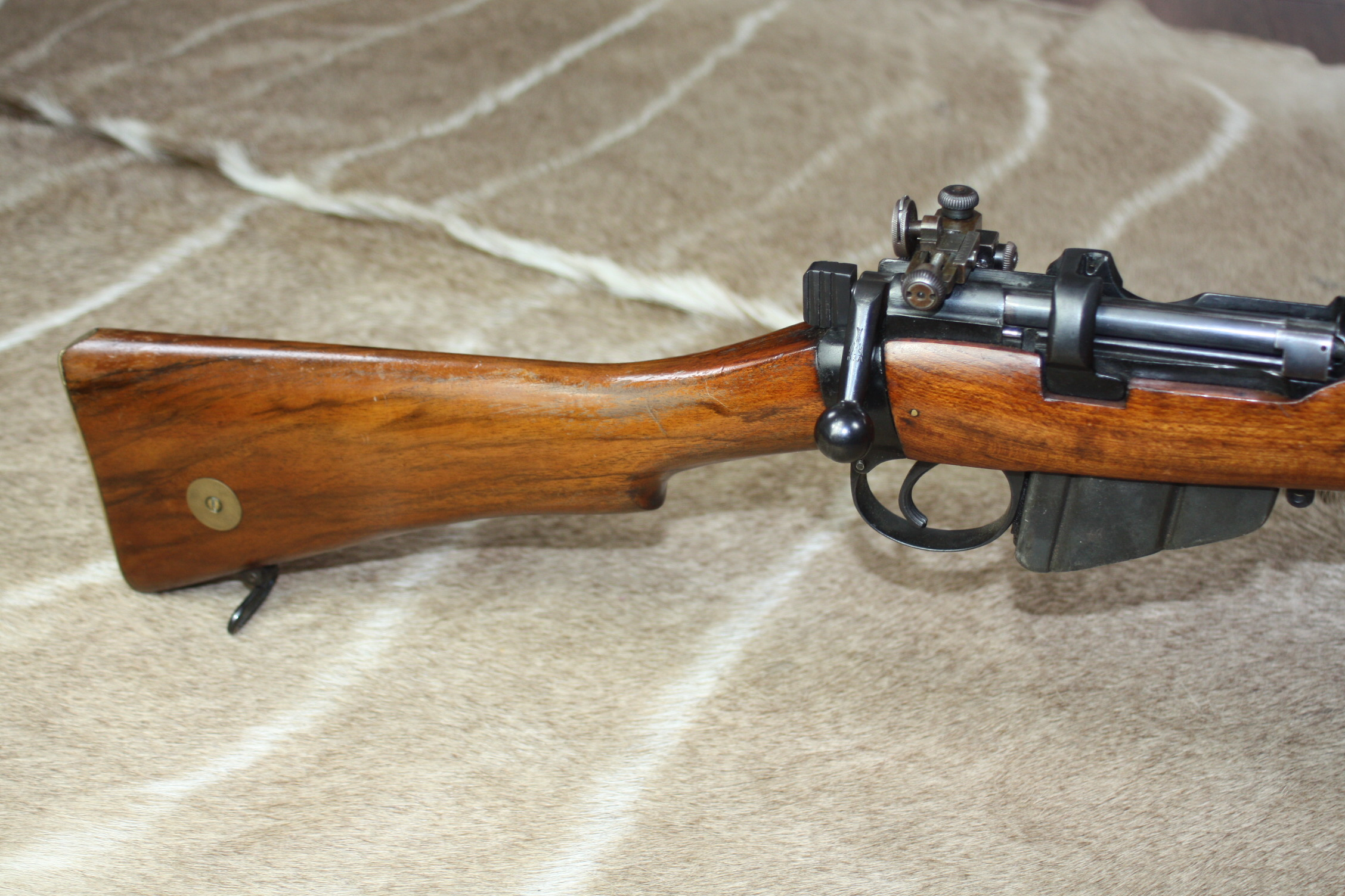 Lee Enfield SMLE No1 MkIII* .303 Bolt Action Rifle, 1917