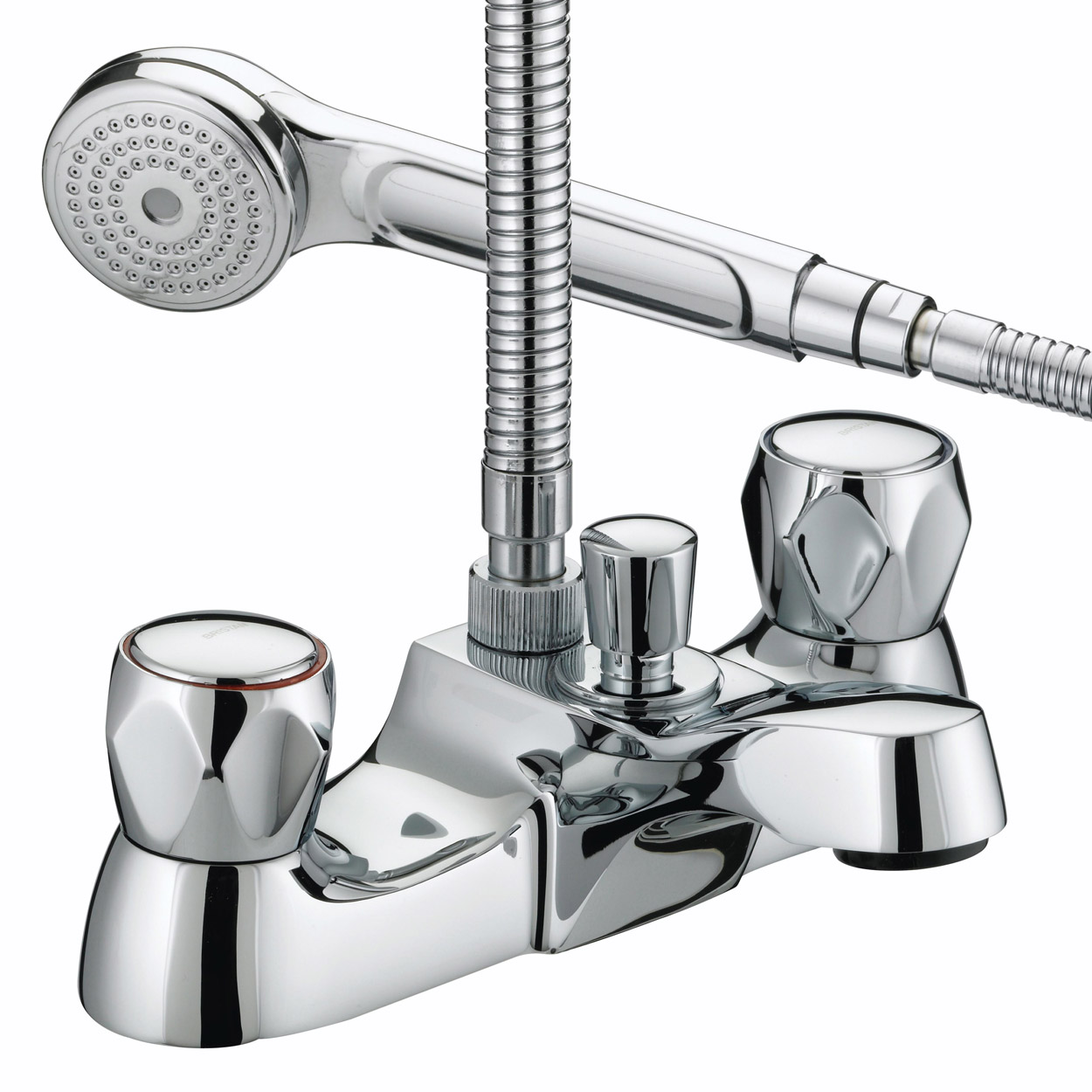 Bath filler tap and shower set