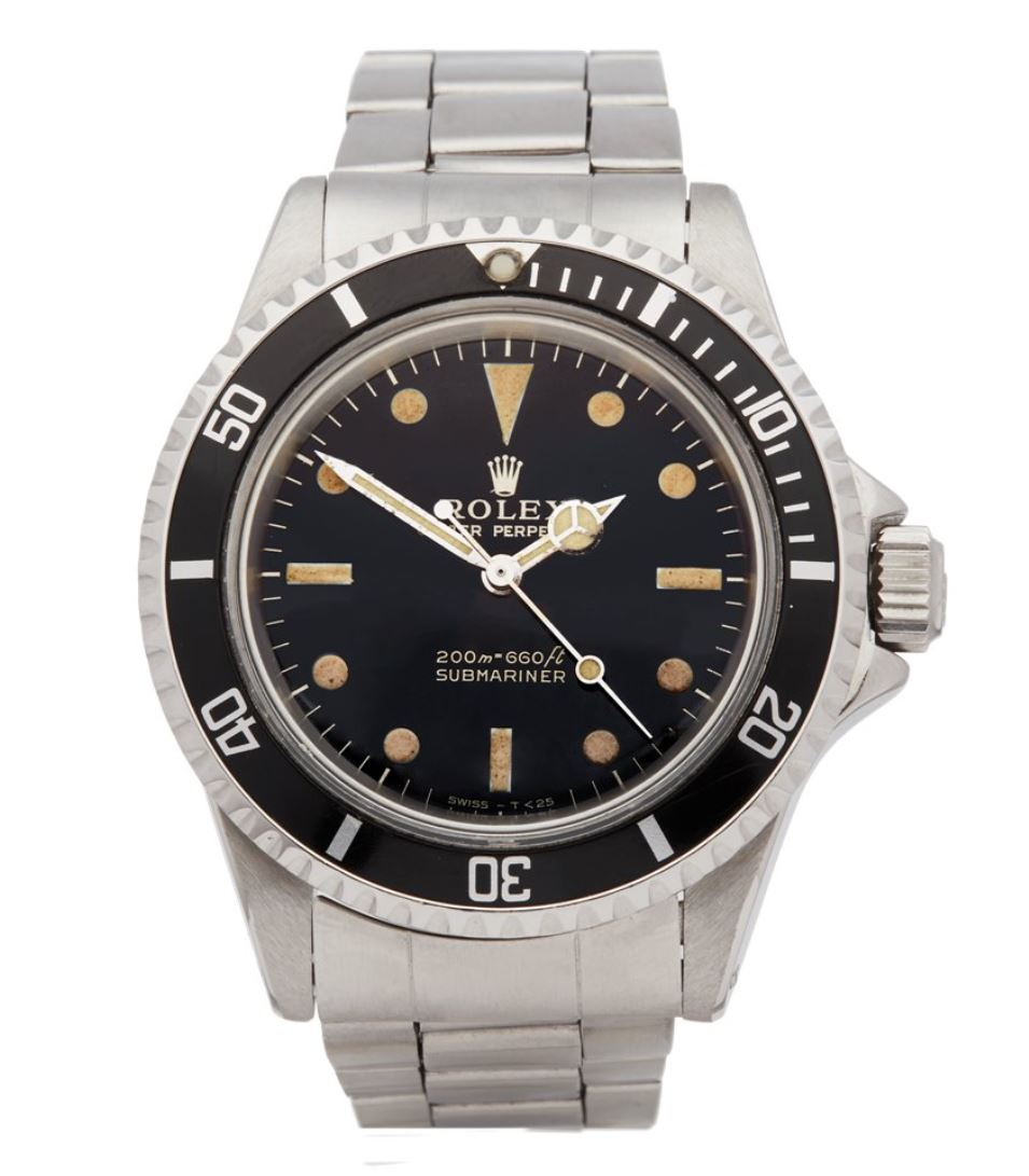 Review of Rolex Submariner 5513 Non Date