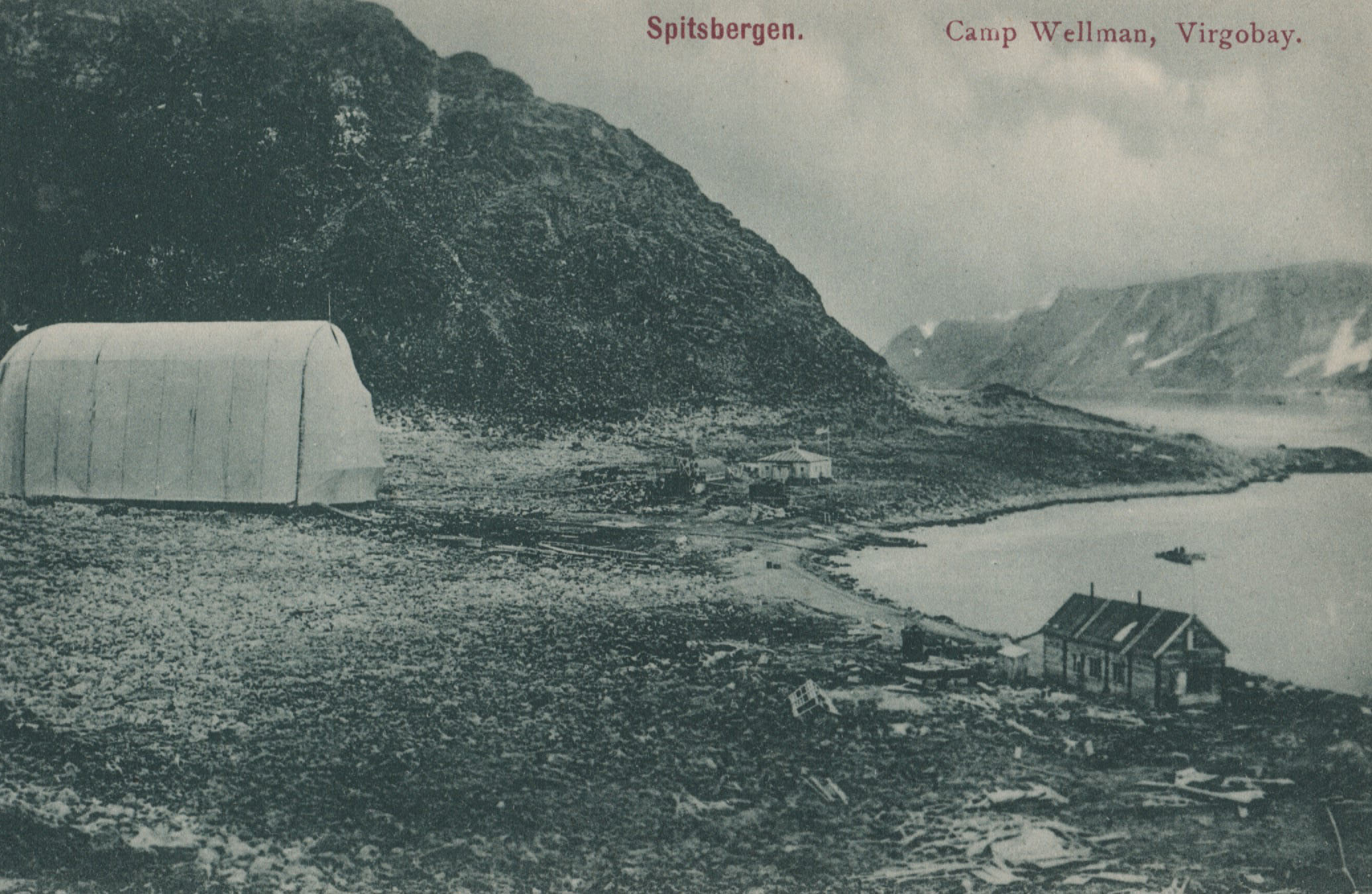 Wellman Arctic North Pole Expedition Svalbard 1907